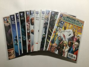 Welcome To Tranquility 1-9 Lot Run Set Very Fine-Near Mint Vf-Nm Wildstorm