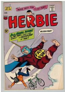 HERBIE (1964-1967) 22 FINE DEC 1966 COMICS BOOK