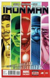 Iron Man #12 (2013 v5) Arno Stark Greg Land Cover NM