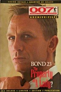 007 JAMES BOND MAGAZINE ARCHIVE FILES-CASINO ROYALE-QUANTUM OF SOLACE NM.