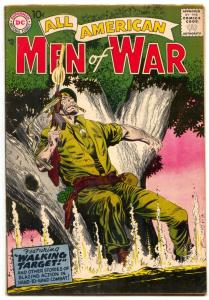 All-American Men Of War #49 1957-DC COMICS-J KUBERT ART FN/VF