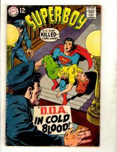 Lot Of 6 Superboy DC Comic Books # 151 154 158 161 163 173 Superman Smallvil GK5
