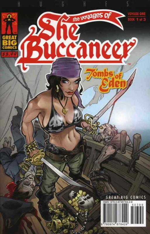Voyages of the SheBuccaneer, The #1 VF; Great Big | save on shipping - details i