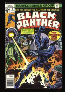 Black Panther #2 VF- 7.5
