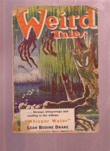 WEIRD TALES MAY 1953-CLARK ASHTON SMITH-HORROR PULP P/FR