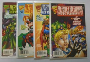 Heroes Reborn The Return, Set:#1-4, 8.0 VF (1997)