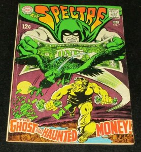 Spectre #7 FN 1968 DC Silver Age Comic Book Ghost That Haunted Money Greed Kill