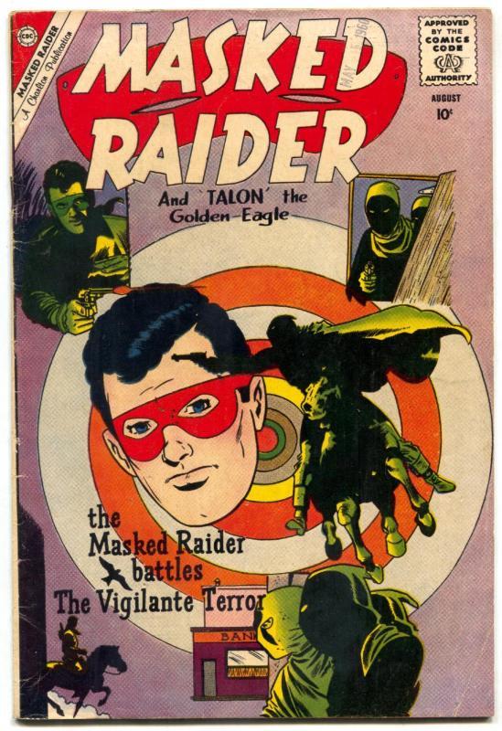 Masked Raider  #25 1960-Charlton-Pete Morisi-Tex Ritter VG/F