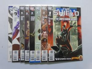 Shield (DC) Set:#1-8, VF 8.0 (2009)