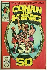 CONAN THE KING#50 FN/VF 1989 MARVEL COMICS