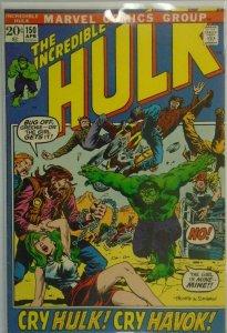 The Incredible Hulk #150 - 5.0 VG/FN - 1972