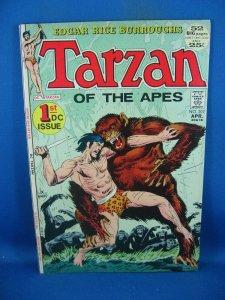 TARZAN 207 F VF FIRST DC ISSUE 1972