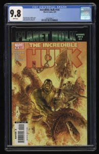 Incredible Hulk #101 CGC NM/M 9.8 White Pages