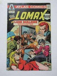 Police Action (Atlas 1975) #1 Featuring Lomax NYPD + Luke Malone Manhunter
