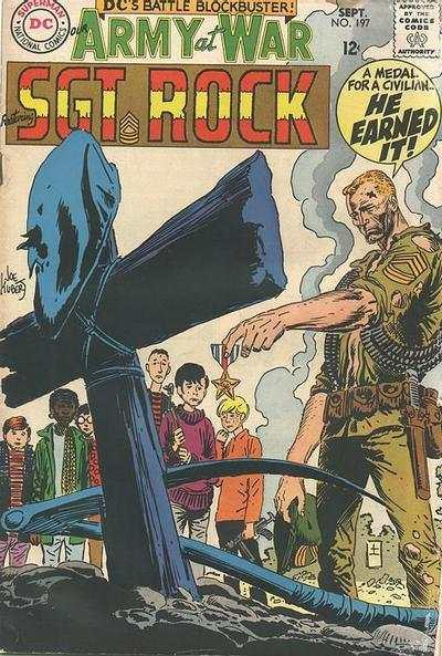 Our Army at War (1952 series) #197, VG+ (Stock photo)