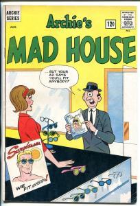 ARCHIE'S MADHOUSE #20 1962-SCI-FI HORROR-ADAM STRANGE LOOK-A-LIKE-CYCLOPS-vg/fn
