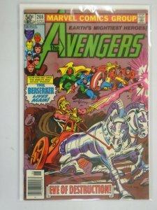 Avengers #208 Newsstand edition 5.0 VG FN (1981 1st Series)