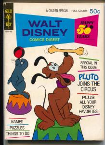 Walt Disney Comic Digest #45 1973-Pluto-Donald Duck-FN