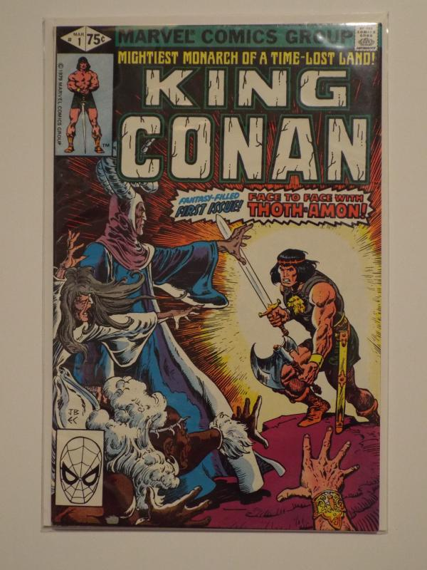 King Conan #1 (1980) VF/NM