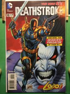 Deathstroke #10 The New 52