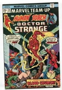 Marvel Team-up #35 1975 Human Torch and Doctor Strange NM-