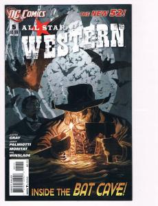 All Star Western # 5 DC Comic Books Hi-Res Scans The New 52 Awesome Issue!! S19