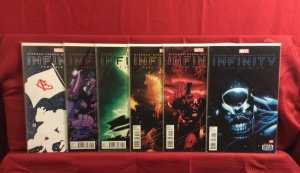 Infinity Comic Set Part 1 -6 NM Condition 2013 Marvel Avengers Thanos
