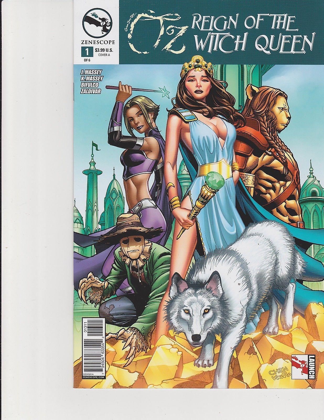 Wonderland #36 Cover C GFT Zenescope NM Qualano