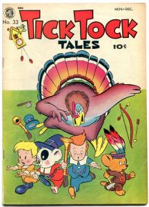 Tick Tock Tales #33 1951-Humor Golden Age Funny Animals FN