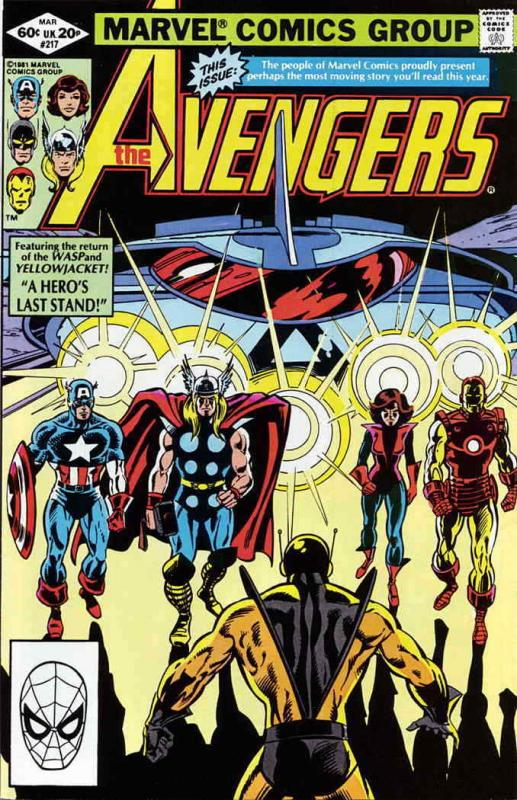 Avengers, The #217 VF/NM; Marvel | save on shipping - details inside