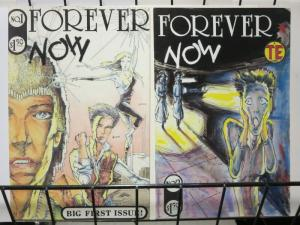 FOREVER NOW (1986 EN) 1-3 Muench SCREAM cover on #2(198
