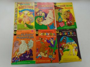 Bronze Age Hanna-Barbera comic lot 6 different issues 4.0 VG