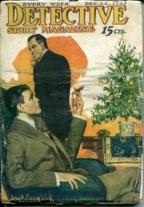 DETECTIVE STORY MAGAZINE-DEC 221923-LUEHRMANN-CHICHESTER-MCCULLEY-good+ G+