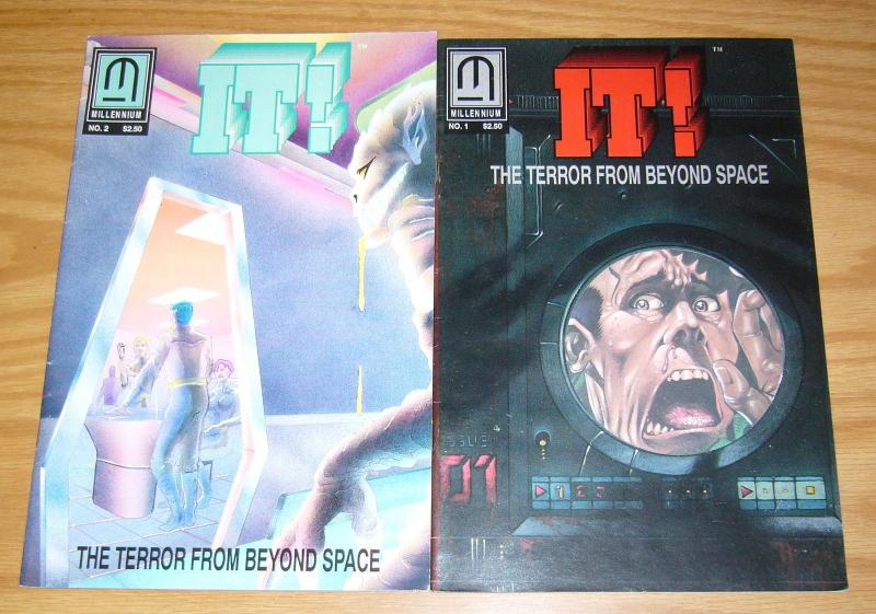 It! the Terror From Beyond Space #1-2 FN complete series millennium 1992 set