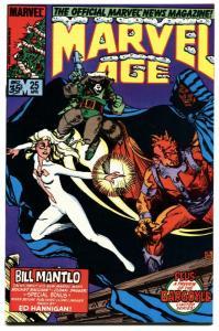 Marvel Age #25-early Rocket Raccoon-marvel-key-high Grade-gotg-nm.