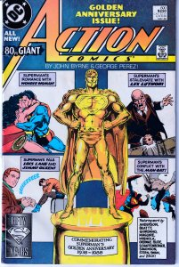 Action Comics(vol. 1) # 600 Wonder Woman! Darkseid! George Perez Art !