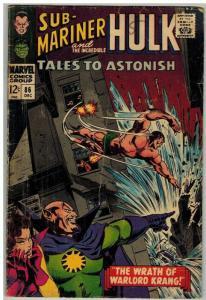 TALES TO ASTONISH 86 G Dec. 1966
