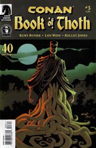 Conan: The Book of Thoth #3 VF/NM; Dark Horse | save on shipping - details insid