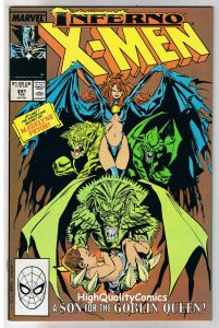 X-MEN #241, VF/NM, Wolverine, Chris Claremont, Uncanny, more in store