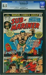 Sub-Mariner #60 (Marvel, 1973)  CGC 8.5 VF+