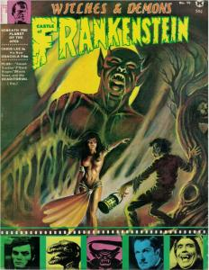 CASTLE OF FRANKENSTEIN 15 VG-F CHRIS LEE,Karloff copy I