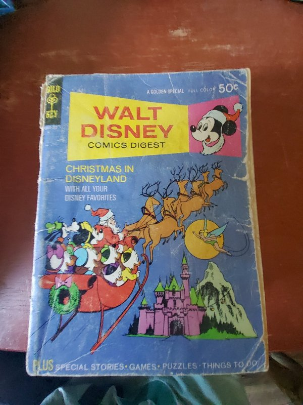 Walt Disney Comics Digest #38 (1972)