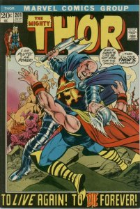 Thor #201 (ungraded) stock photo