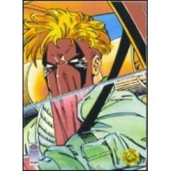 1993 Upper Deck Valiant/Image Deathmate GRIFTER WAITS #19