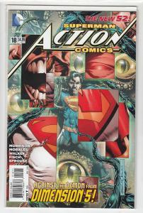 ACTION COMICS (2011 DC) #18 NM- A91826