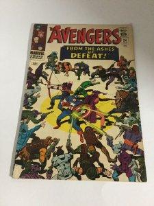 Avengers 24 Fn Fine 6.0 Marvel Comics Silver Age