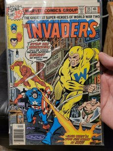 MARVEL COMICS THE INVADERS #26 and #35  1978