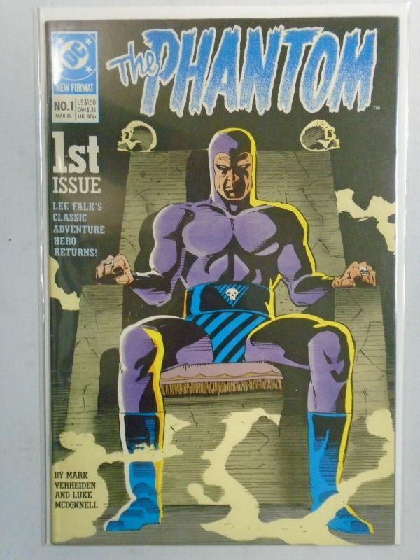 Phantom #1 (1989 2nd Series) 6.0/FN