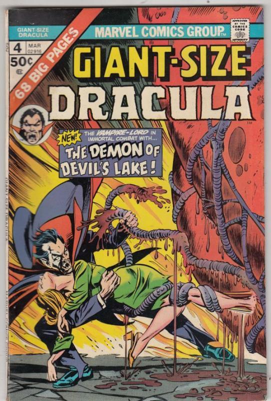 Giant-Size Dracula #4 (Mar-75) VF/NM High-Grade Dracula