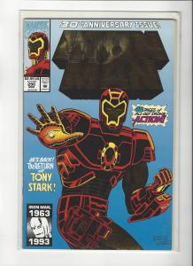 Ironman Vol 1 #290 Return of Tony Stark Foil Cover NM+